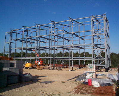 Completed-steel-structure